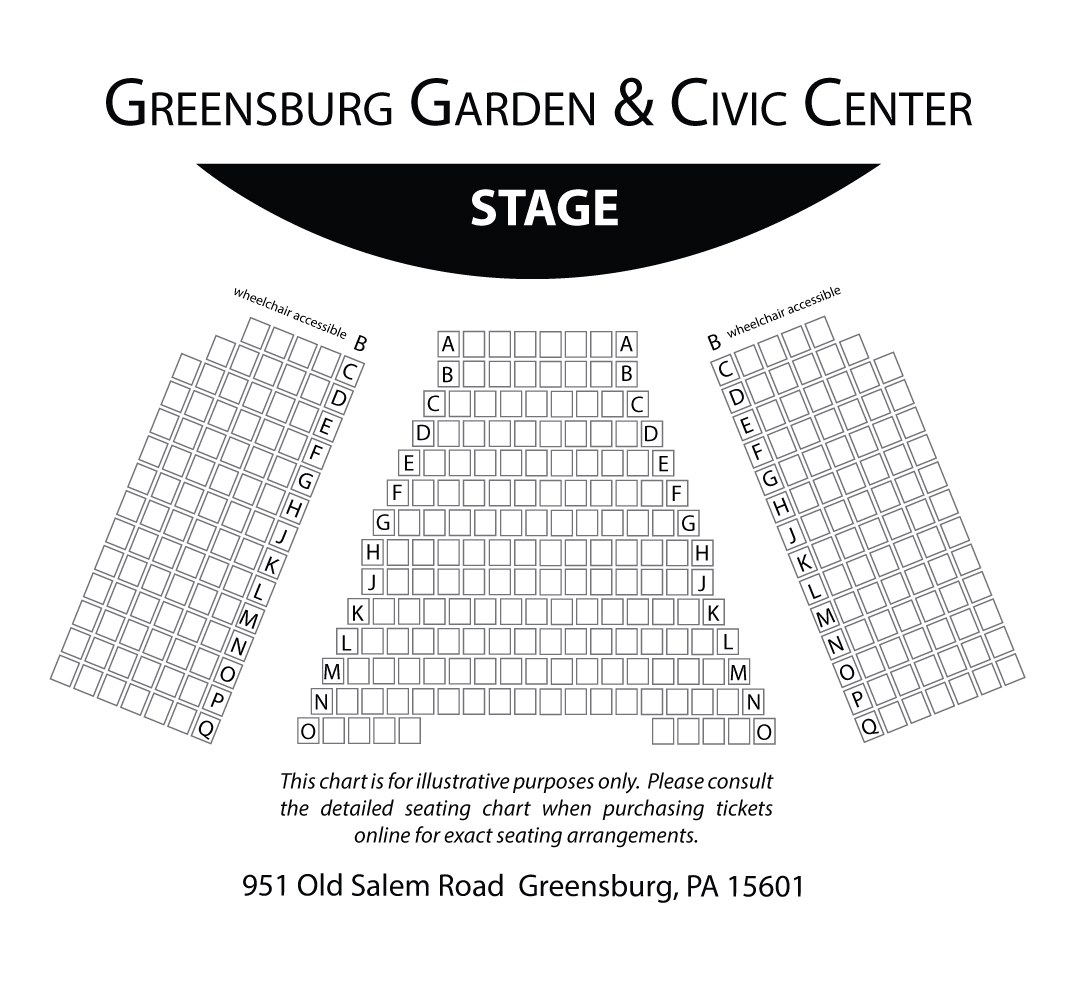 Ggcc Seating Chart The Palace Theatre