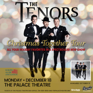 The Tenors Christmas Together Tour December