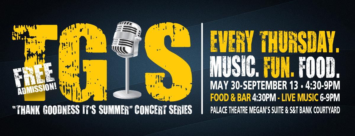 TGIS Free concert series